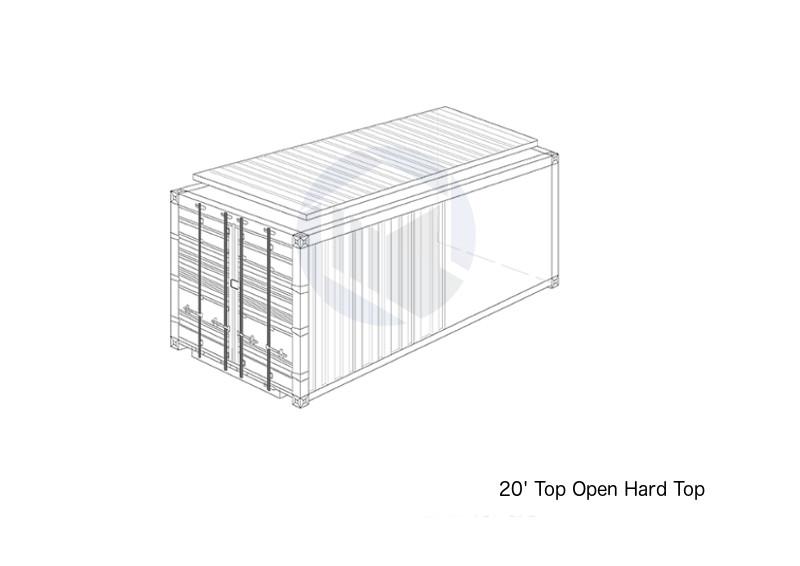 20' Top Open Hard Top