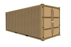 20 foot storage container