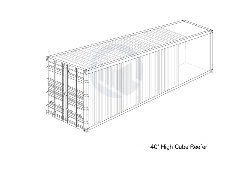 40' High Cube Reefer