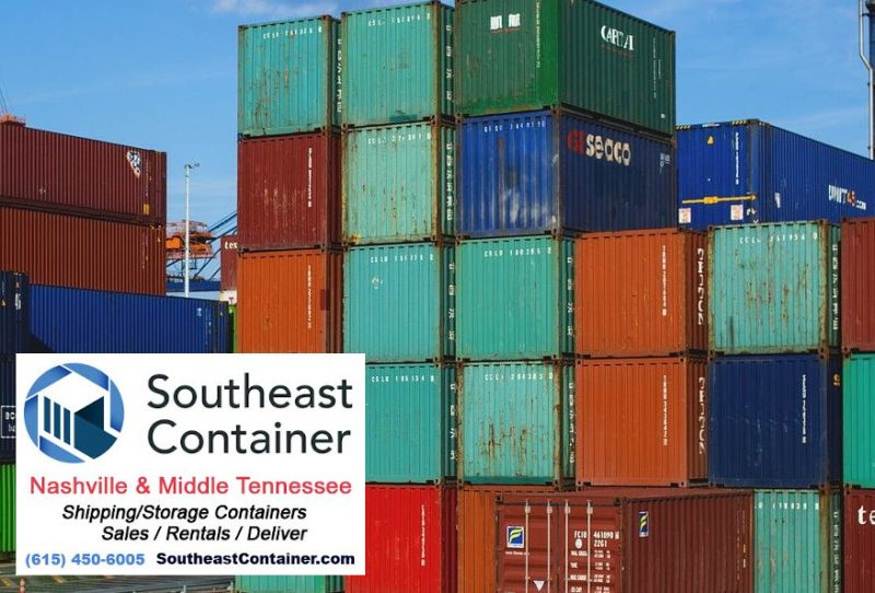 40 foot storage containers