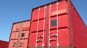 40 foot storage containers top