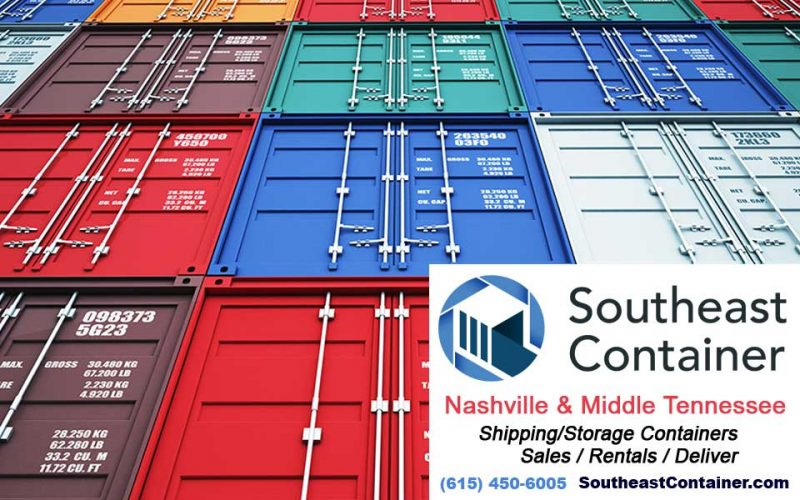 Rental Storage Container Nashville TN