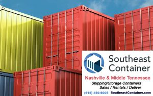 Shipping containers in Nashville TN